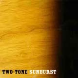 two tone sunburst image